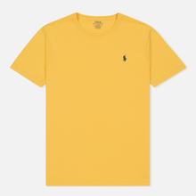 Мужская футболка Polo Ralph Lauren Classic Crew Neck 26/1 Jersey Chrome Yellow фото- 0