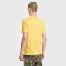 Мужская футболка Polo Ralph Lauren Classic Crew Neck 26/1 Jersey Chrome Yellow фото- 3