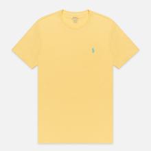 Мужская футболка Polo Ralph Lauren Classic Crew Neck 26/1 Jersey Empire Yellow фото- 0