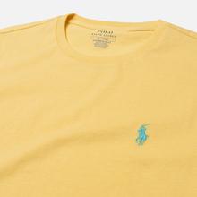 Мужская футболка Polo Ralph Lauren Classic Crew Neck 26/1 Jersey Empire Yellow фото- 1
