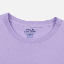 Мужская футболка Polo Ralph Lauren Classic Crew Neck 26/1 Jersey English Lavender фото- 1