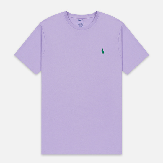 Мужская футболка Polo Ralph Lauren Classic Crew Neck 26/1 Jersey English Lavender