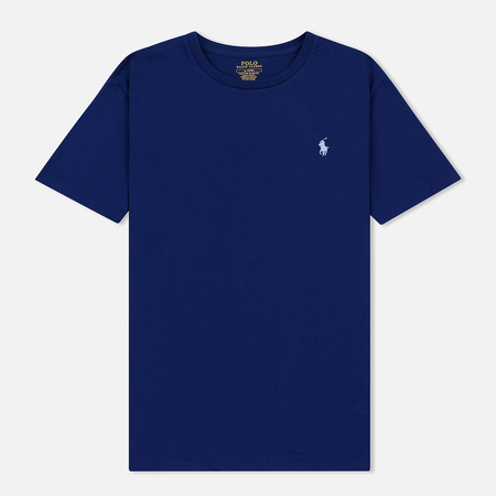 Мужская футболка Polo Ralph Lauren Classic Crew Neck 26/1 Jersey Fall Royal