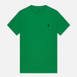 Мужская футболка Polo Ralph Lauren Classic Crew Neck 26/1 Jersey Golf Green
