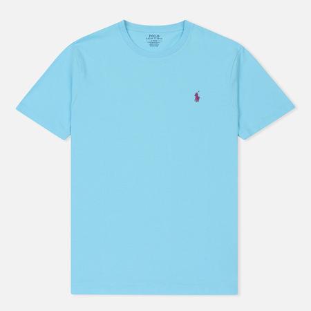 Мужская футболка Polo Ralph Lauren Classic Crew Neck 26/1 Jersey Hammond Blue