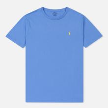 Мужская футболка Polo Ralph Lauren Classic Crew Neck 26/1 Jersey Harbor Island Blue фото- 0