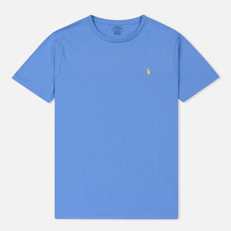 Мужская футболка Polo Ralph Lauren Classic Crew Neck 26/1 Jersey Harbor Island Blue