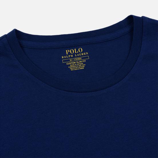 Мужская футболка Polo Ralph Lauren Classic Crew Neck 26/1 Jersey Holiday Sapphire