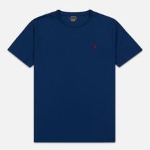 Мужская футболка Polo Ralph Lauren Classic Crew Neck 26/1 Jersey Holiday Sapphire фото- 0