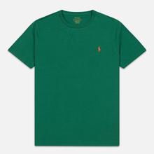 Мужская футболка Polo Ralph Lauren Classic Crew Neck 26/1 Jersey Jerry Green фото- 0