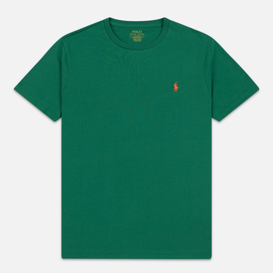 Мужская футболка Polo Ralph Lauren Classic Crew Neck 26/1 Jersey Jerry Green