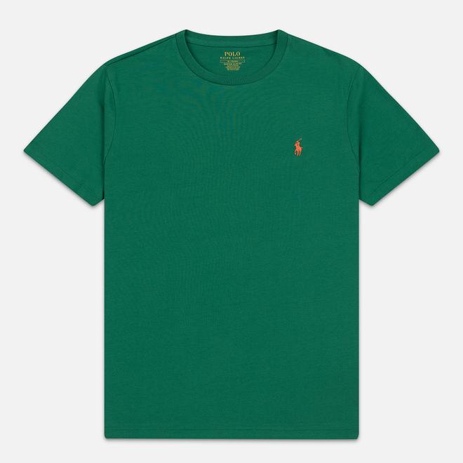 Мужская футболка Polo Ralph Lauren Classic Crew Neck 26/1 Jersey Jerry Green