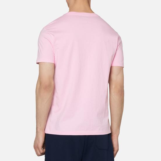 Мужская футболка Polo Ralph Lauren Classic Crew Neck 26/1 Jersey Pink