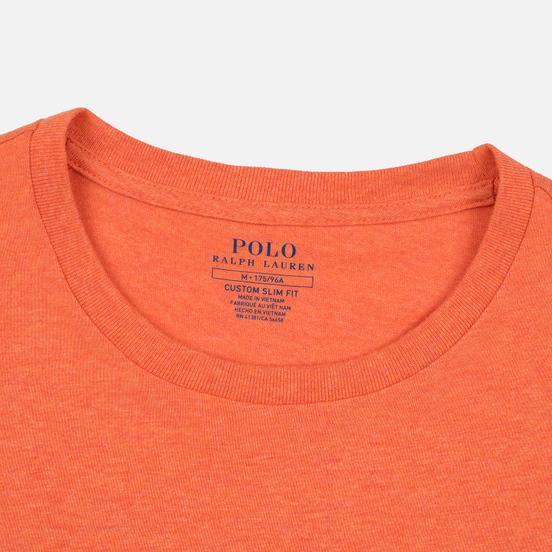 Мужская футболка Polo Ralph Lauren Classic Crew Neck 26/1 Jersey Spring Melon Heather