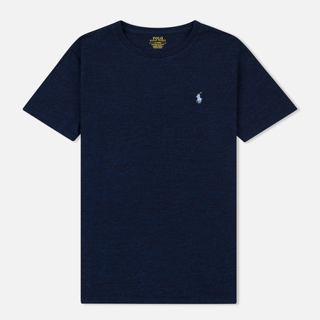 Мужская футболка Polo Ralph Lauren Classic Crew Neck 26/1 Jersey Worth Navy Heather