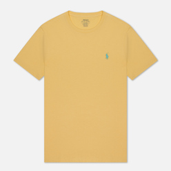 Мужская футболка Polo Ralph Lauren Classic Crew Neck 26/1 Jersey Empire Yellow
