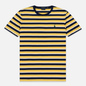 Мужская футболка Polo Ralph Lauren Classic Crew Neck Stripe Chrome Yellow/Multicolor фото - 0