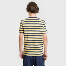 Мужская футболка Polo Ralph Lauren Classic Crew Neck Stripe Chrome Yellow/Multicolor фото- 3