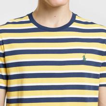 Мужская футболка Polo Ralph Lauren Classic Crew Neck Stripe Chrome Yellow/Multicolor фото- 2