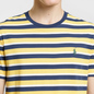 Мужская футболка Polo Ralph Lauren Classic Crew Neck Stripe Chrome Yellow/Multicolor фото - 2