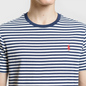 Мужская футболка Polo Ralph Lauren Classic Crew Neck Stripe Nevis/Newport Navy/Red фото - 2