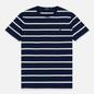 Мужская футболка Polo Ralph Lauren Classic Crew Neck Stripe Newport Navy/Nevis фото - 0
