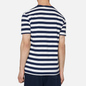 Мужская футболка Polo Ralph Lauren Classic Fit Striped Washed Cotton French Navy/White фото - 3