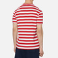 Мужская футболка Polo Ralph Lauren Classic Fit Striped Washed Cotton Red/White фото - 3