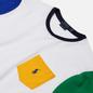 Мужская футболка Polo Ralph Lauren Colour Block Pocket White/Multi фото - 1