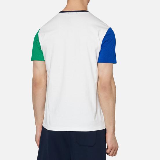 Мужская футболка Polo Ralph Lauren Colour Block Pocket White/Multi