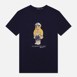 Мужская футболка Polo Ralph Lauren CP-93 Polo Bear Cruise Navy