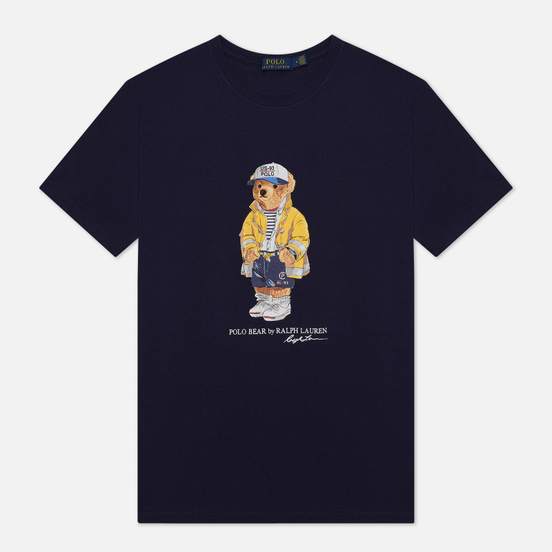 Мужская футболка Polo Ralph Lauren CP-93 Polo Bear 710-795737-001