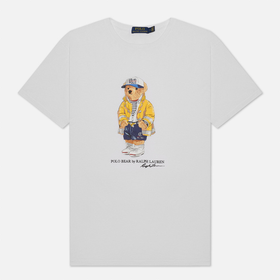 Мужская футболка Polo Ralph Lauren CP-93 Polo Bear White