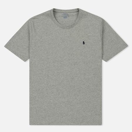Мужская футболка Polo Ralph Lauren Crew Neck Heather Grey