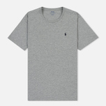 Мужская футболка Polo Ralph Lauren Crew Neck Liquid Cotton Andover Heather фото- 0