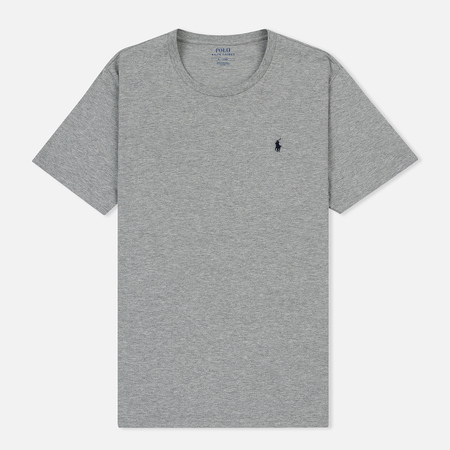 Мужская футболка Polo Ralph Lauren Crew Neck Liquid Cotton Andover Heather