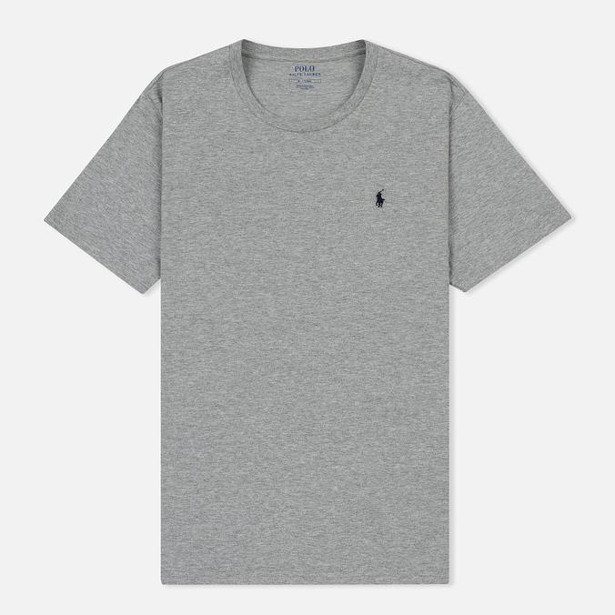 Мужская футболка Polo Ralph Lauren Crew Neck Liquid Cotton Andover Heather