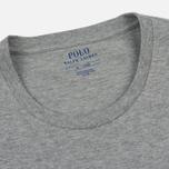Мужская футболка Polo Ralph Lauren Crew Neck Liquid Cotton Andover Heather фото- 1