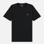 Мужская футболка Polo Ralph Lauren Crew Neck Liquid Cotton Black фото- 0