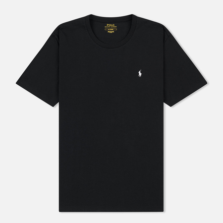 Мужская футболка Polo Ralph Lauren Crew Neck Liquid Cotton Black
