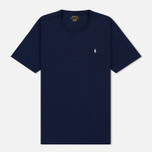 Мужская футболка Polo Ralph Lauren Crew Neck Liquid Cotton Cruise Navy фото- 0