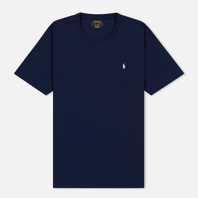 Мужская футболка Polo Ralph Lauren Crew Neck Liquid Cotton Cruise Navy