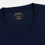 Мужская футболка Polo Ralph Lauren Crew Neck Liquid Cotton Cruise Navy фото- 1