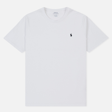 Мужская футболка Polo Ralph Lauren Crew Neck White