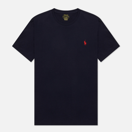 Мужская футболка Polo Ralph Lauren Custom Fit Crew Neck 26/1 Jersey Ink