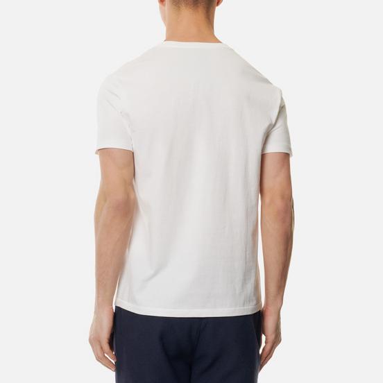 Мужская футболка Polo Ralph Lauren Custom Fit Crew Neck 26/1 Jersey White