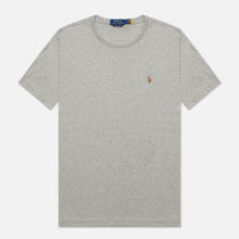 Мужская футболка Polo Ralph Lauren Custom Slim Fit Interlock Andover Heather фото- 2
