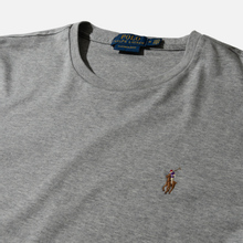 Мужская футболка Polo Ralph Lauren Custom Slim Fit Interlock Andover Heather фото- 1