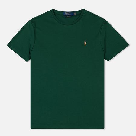 Мужская футболка Polo Ralph Lauren Custom Slim Fit Interlock New Forest