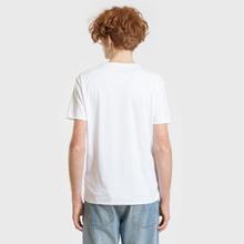 Мужская футболка Polo Ralph Lauren Custom Slim Fit Interlock White фото- 2